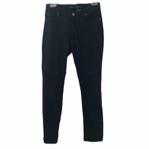 Kenneth Cole Black Mid Rise Skinny Jeans